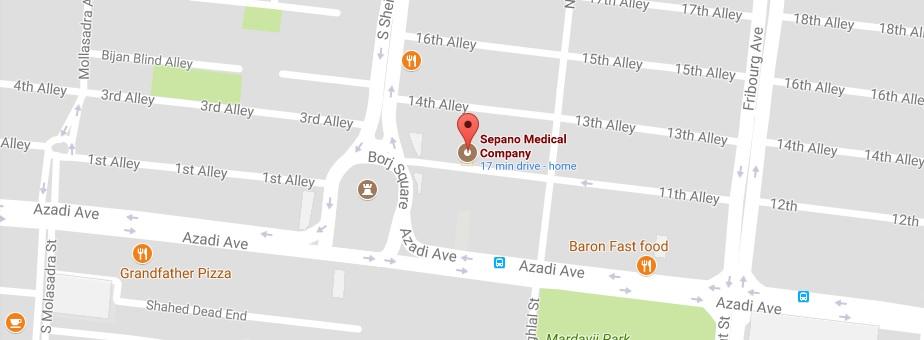 شرکت درمان گستر سپانو اصفهان